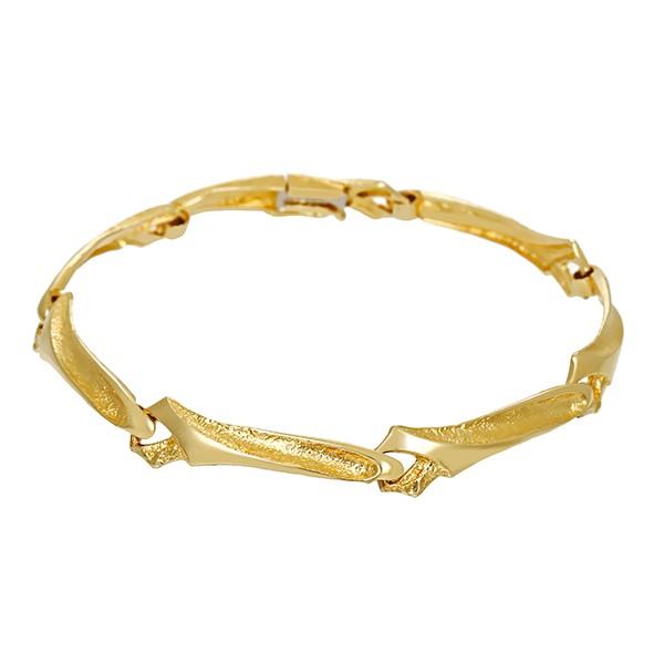 Armband 585 / 9,50gr Gelbgold L 18 cm Detailbild #1