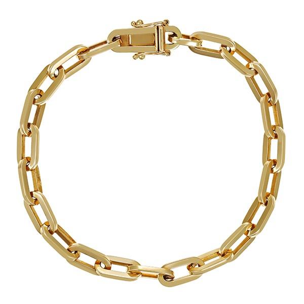 Armband 585 / 16,30gr Gelbgold L 19 cm Anker- Detailbild #1