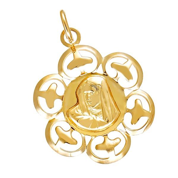 Anhänger 750 / 3,30gr Gelbgold Maria Detailbild #1