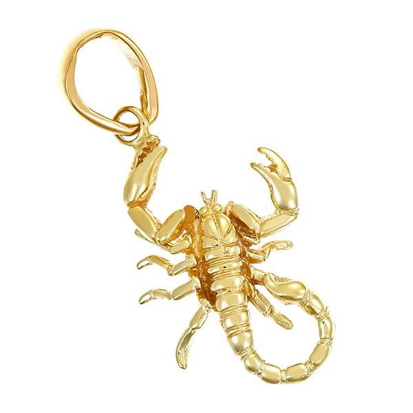 Anhänger 585 / 8,65gr Gelbgold Scorpion Detailbild #1