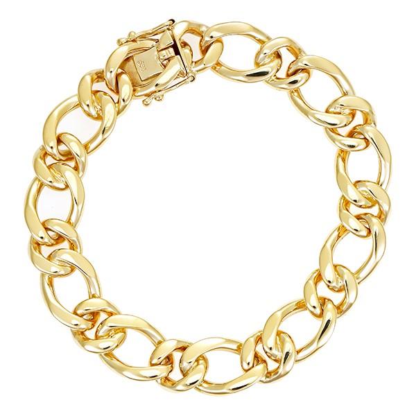 Armband 585 / 39,00gr Gelbgold L 18 cm Detailbild #1
