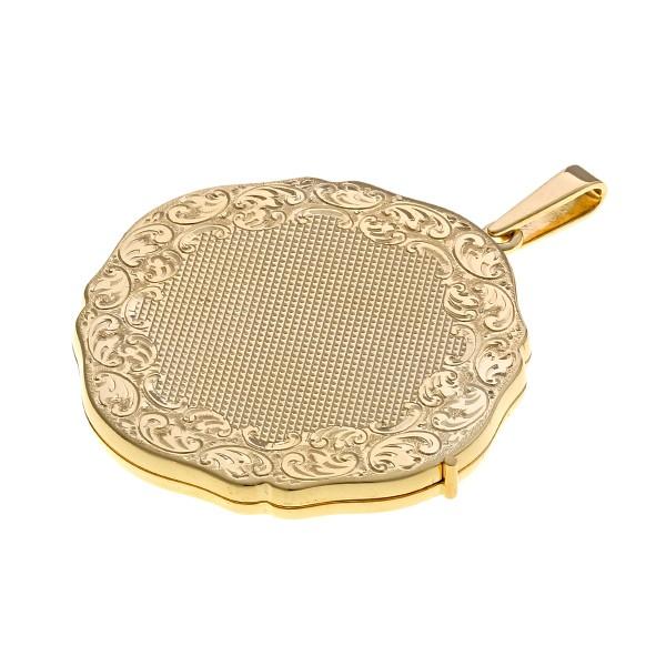 Anhänger 585 / 20,00gr Gelbgold Medaillon Detailbild #1