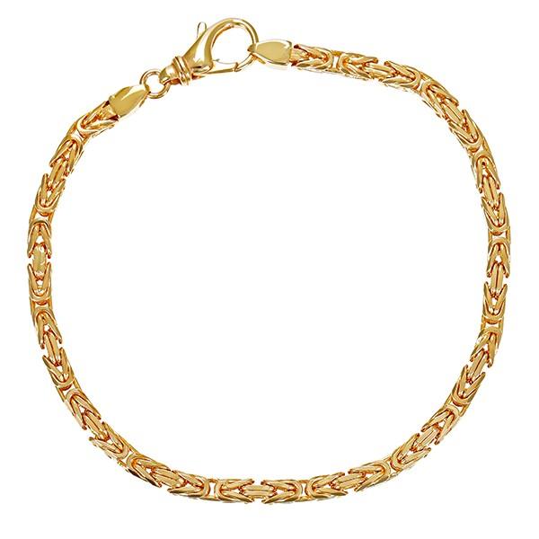 Armband 585 / 16,00gr Gelbgold Königs- L 21 cm Detailbild #1