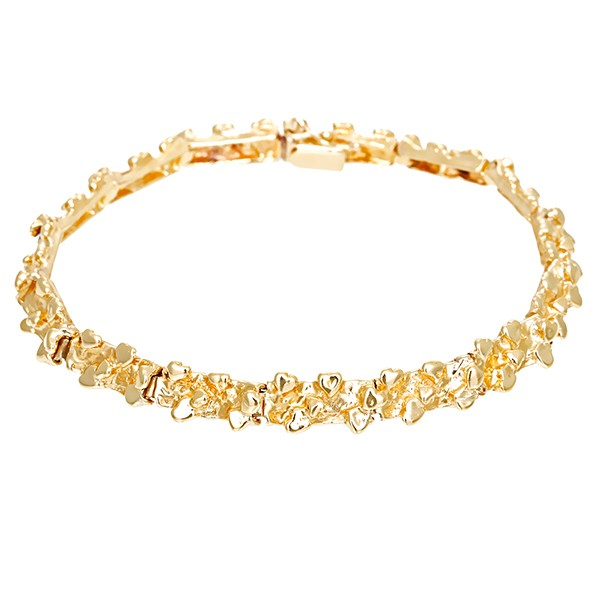 Armband 585 / 13,60gr Gelbgold Fantasie- L 17,5cm Detailbild #1