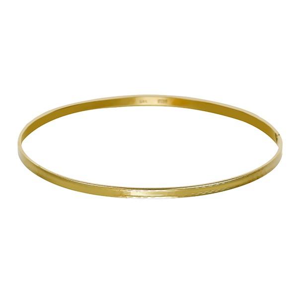 Armreif 585 / 6,70gr Gelbgold L 21 cm Detailbild #1