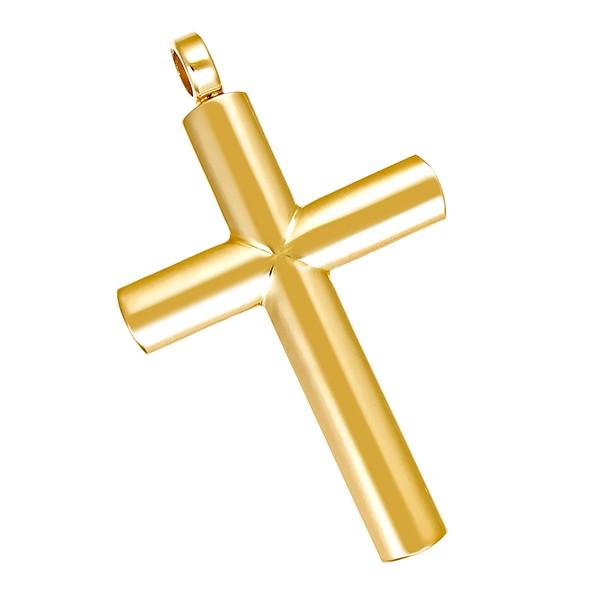Anhänger 750 / 6,10gr Gelbgold Kreuz Detailbild #1