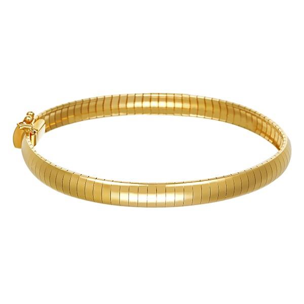 Armband 750 / 18,20gr Gelbgold Fantasiemuster L 18,5 cm Detailbild #1