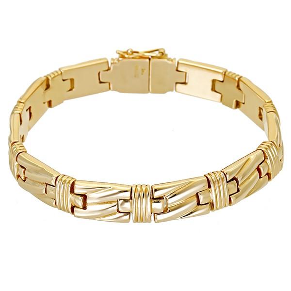 Armband 585 / 32,30gr Gelbgold L 19 cm Detailbild #1