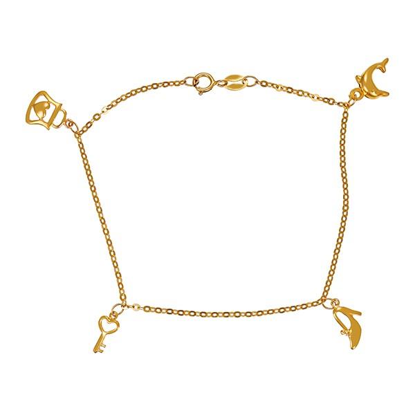 Armband 875 / 1,90gr Gelbgold L 19 cm Bettelarmband Detailbild #1