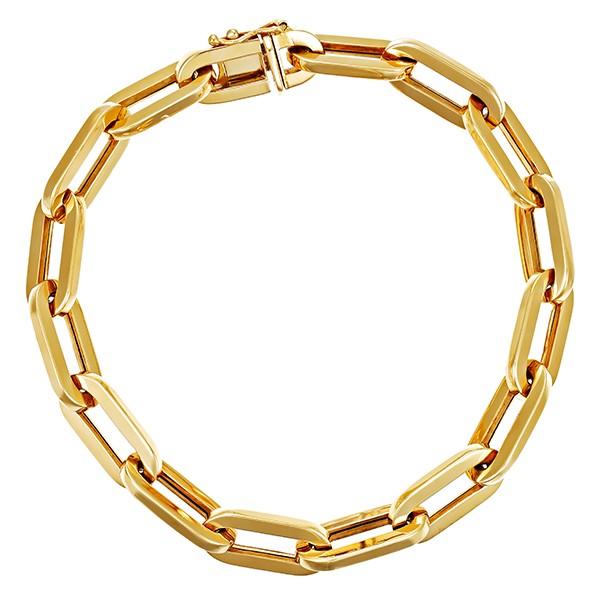 Armband 585 / 13,10gr Gelbgold L 21 cm Anker- Detailbild #1