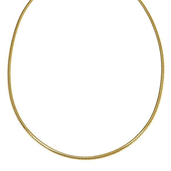 Reif 585 / 21,30gr Gelbgold L 45 cm Omega- Detailbild #1