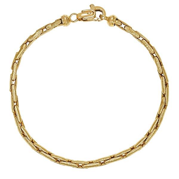 Armband 585 / 5,50gr Gelbgold Fantasie- L 20 cm Detailbild #1