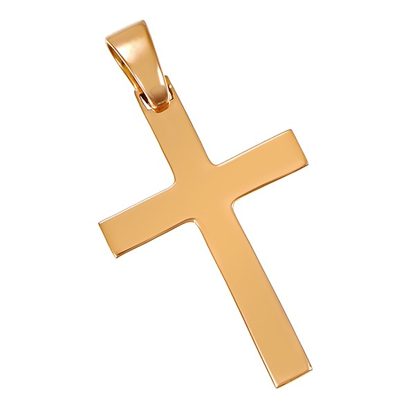 Anhänger 750 / 2,60gr Gelbgold Kreuz Detailbild #1