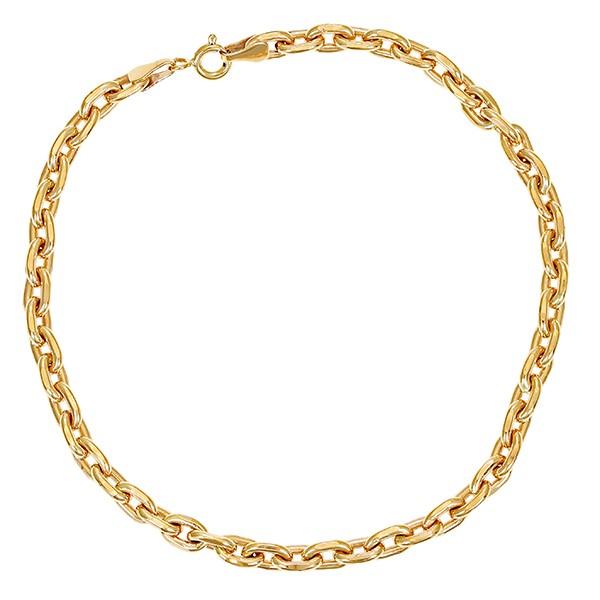 Armband 585 / 10,30gr Gelbgold L 20 cm Anker- Detailbild #1