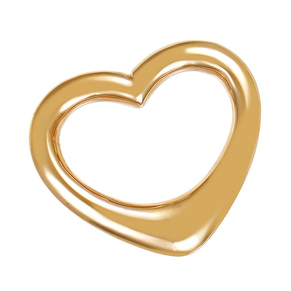 Anhänger 585 / 6,20gr Gelbgold Herz Christ Detailbild #1