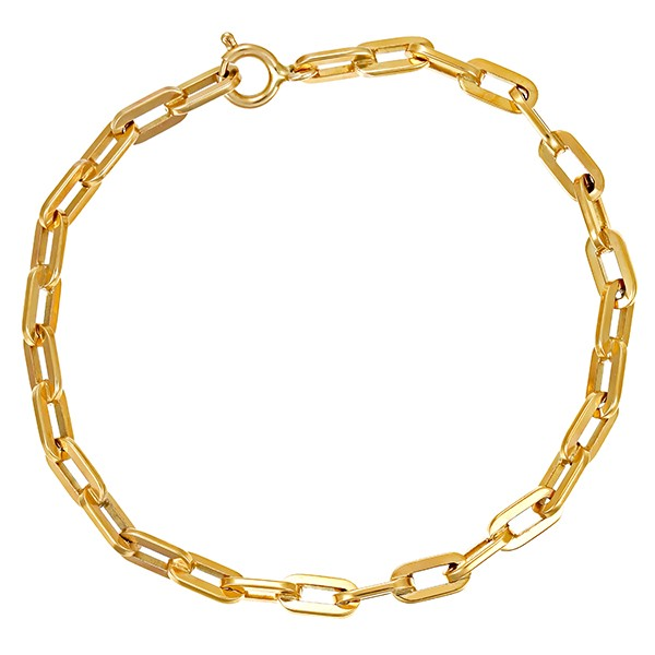 Armband 333 / 8,60gr Gelbgold Anker- L 19 cm Detailbild #1