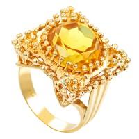 Ring,14K,Gelbgold,Synth.Korund Detailbild #1