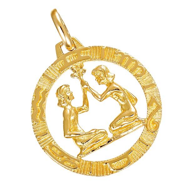 Anhänger 750 / 7,30gr Gelbgold Sternzeichen Detailbild #1