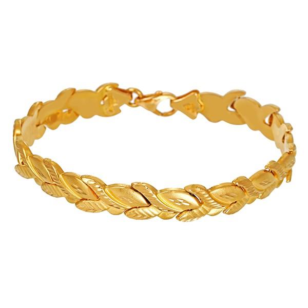 Armband 916 / 14,80gr Gelbgold L 20 cm Fantasie- Detailbild #1