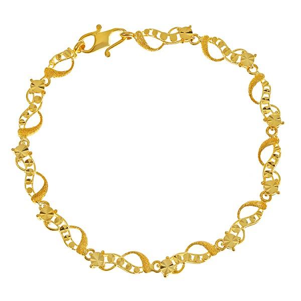 Armband 916 / 7,70gr Gelbgold Umfang 53 Umfang 53 L 17,5cm L 17,5cm L 17,5cm Dia.ca. 0,01ct Dia.ca. 0,01ct Detailbild #1