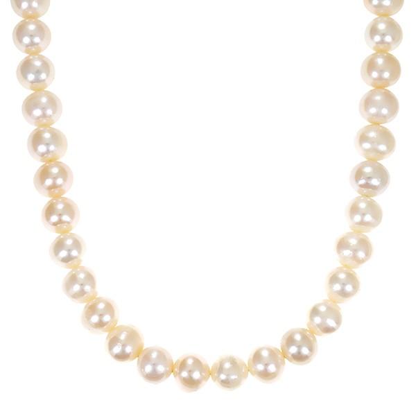 Perlenkette 333 / Gelbgold Schliesse L 43 cm ZP Detailbild #1