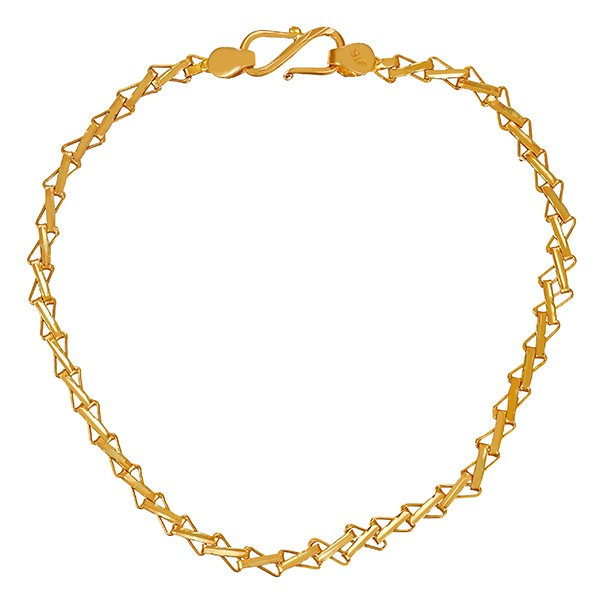 Armband 916 / 2,50gr Gelbgold L 17 cm Detailbild #1