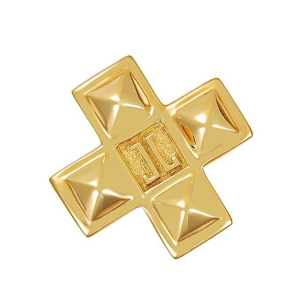 Anhänger 750 / 4,20gr Gelbgold Kreuz Jette Joop Detailbild #1