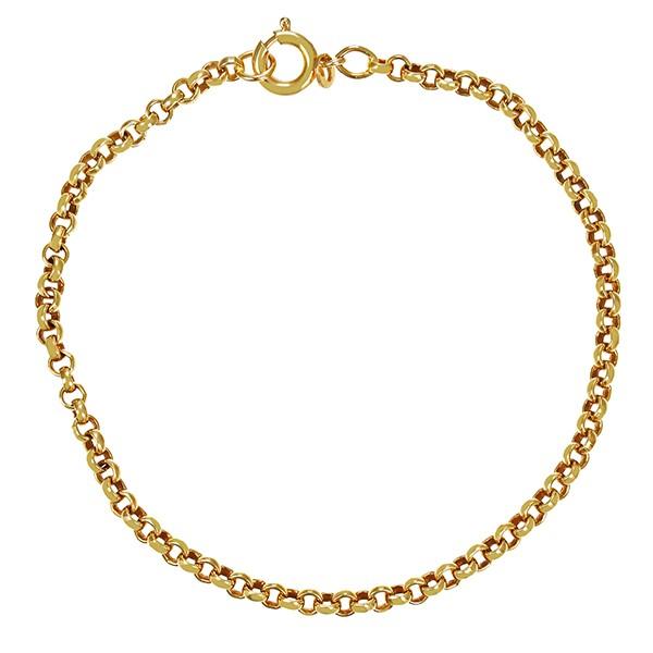 Armband 585 / 5,00gr Gelbgold L 19 cm Erbs- Detailbild #1