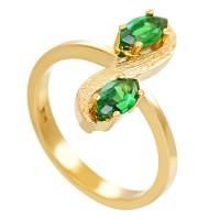 Ring,18K,Gelbgold,Diopside Detailbild #1