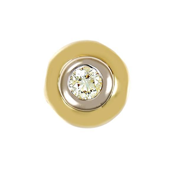 Anhänger 585 / 2,00gr Gelbgold 1 Brill. ca. 0,20ct gW (K-L) VS Detailbild #1