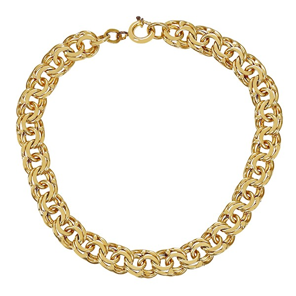 Armband 333 / 13,30gr Gelbgold L 19 cm Garibaldi- Detailbild #1