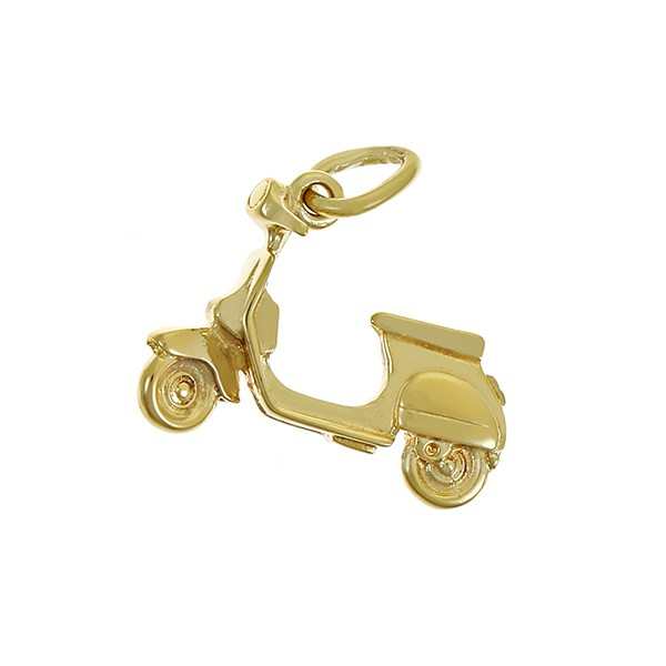 Anhänger 585 / 3,00gr Gelbgold Roller Detailbild #1