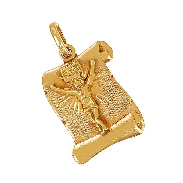 Anhänger 585 / 2,40gr Gelbgold Jesus Detailbild #1